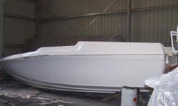 Mustang 9.2m Hull & Deck Kit Set - Fibre Glass, Boat