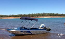 Mustang Burwood 213 speed boat/runabout. Needs to go!