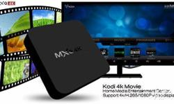 MXQ 4K Support 4K Ultimate HD video hardware decoding.