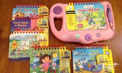 My First Leap Pad books & console plus 4 extra books.