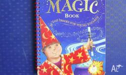 This fantastic Magic Book shows step by step on how to