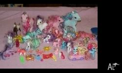 bulk my little ponys $60
