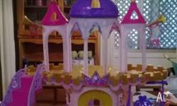 have 4 MLP playsets for sale - Castle, Merry go round,