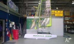 New Nacra 350 sport. Ready to hit the water this