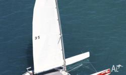 Business opportunity. 36ft Nacra catamaran in the
