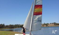 I have a 16 foot Nacra 5 sailboat for sale with trailer