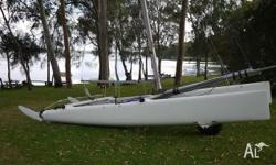 Nacra F18 in very good condition. Full boat cover.