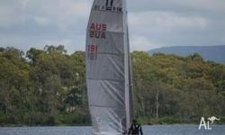 Early Nacra F18 catamaran. Great condition with full