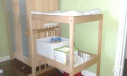 Ikea nappy changing table available. Good condition.