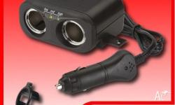 NARVA 12V Twin Accessory Socket with extended lead and