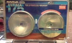 NEW NARVA Ultima 175 lights; 199w; globes included;