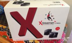 NAS Xtreamer e-TRAYz 2 drive home nas. Perfect