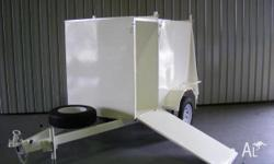 Nathan Trailers NT850.74 Mower Trailer, 2010, white,