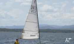 LUNA is a National Solo class sailing dinghy built by