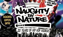 Hey Guys, Get you Naughty by Nature tickets from me for