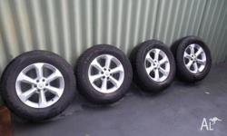 g'day i have a set of 17 inch rims and tyres for