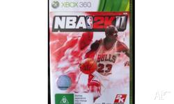 NBA 2K11. In great condition with some minor scuff