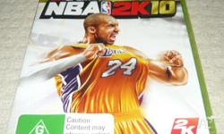 NBA Live2K10 for Xbox360 $15.00[post incl.] SCRATCH