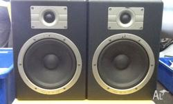 Great quality studio monitors. 70w output. Only