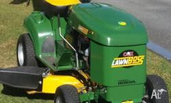 NEAR NEW COX Lawnboss Ride On Mower 38� Cut (Twin