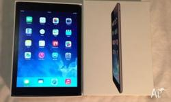 Iam selling near new Ipad AIR Space Grey 16Gb/4G for