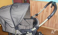 STEELCRAFT STROLLER / PRAM REVERSERABLE HANDLE BASKET