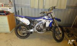 Yamaha YZ450F - only done 2 1/2 riding hours NEEDS TO