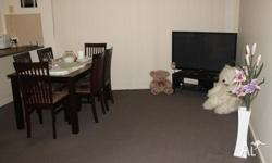 Fully furnished room is available with double bed,