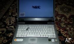 HI UP FOR SALE IS A NEC VERSA LAPTOP IN GREAT