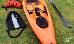 This 4meter Sea Kayak is one of the fastest sit-on top