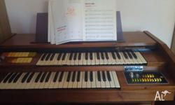 hello i have a organ and it works brillantjust dont use