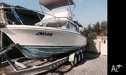 For Sale... 25ft Bertram, very nice riding boat and