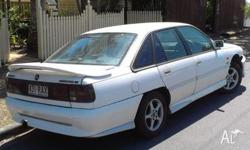 This classic 1992 holden commordore has a reconditioned