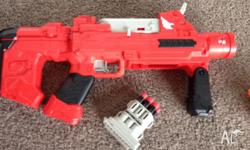 Halo gun, with 5 bullets (similar to the nerf)