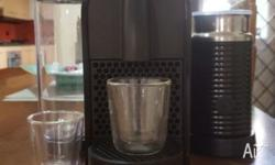 We are selling our Nespresso U machine in perfect