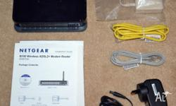 Netgear DGN1000 wireless-N router with built-in ADSL2+