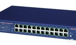 24 switched 10/100 Mbps ports �Per port, automatic