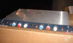 Neve JC1272 hand-wired dual preamp - Amazing! Like new