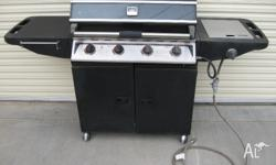 Never run out of gas with this BBQ as long as you paid