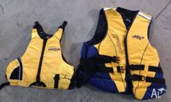 I have for sale 2 life jackets that have never been