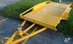 New 14X4 CT, 2010, Safety Yellow, Car Carrier, GIC