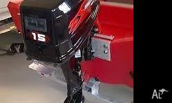 15hp Zongshen SHORT SHAFT outboard motor 3 year