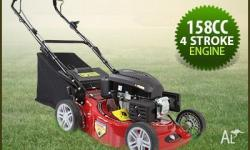 "A high superiority Black Eagle 18"" lawn mower with all"