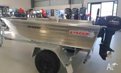 NEW 2018 STACER 359 SEASPRITE, 15HP YAMAHA OUTBOARD &