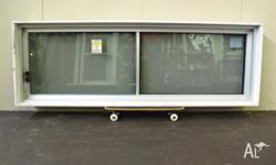 New Alloy Sliding Windows with expensive Solar E Glass