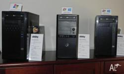 We have a selection of New and Refurbished Computers