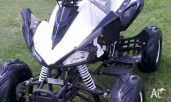 Brand New and Fully Assembled 125cc Automatic with