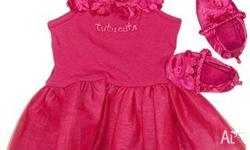 Baby Girls 3Pc Tutu Set. Cute Tutu Dress with Floral