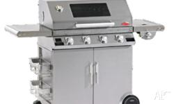 BeafEater 4 Burner & Side Burner Full Stainless Steel