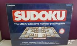 New board game - Sudoku Unopened in packaging Please